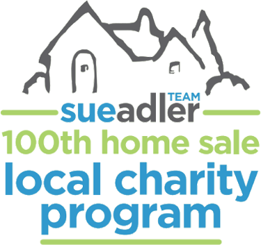 The Sue Adler Team's 100th Home Sale Charity Program