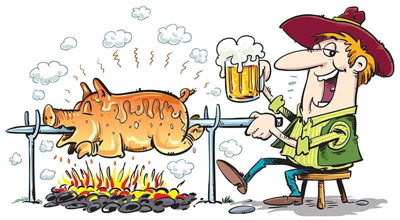 Pig Roast and Beer Garden in Madison