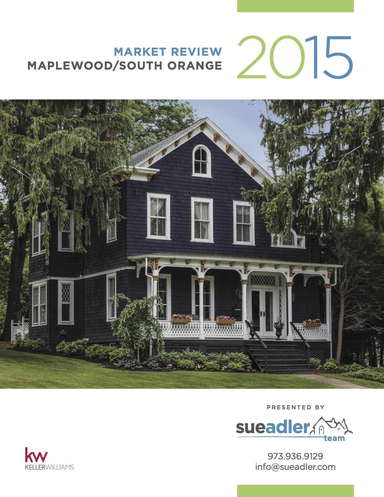 Sue Adler 2015 Maplewood:South Orange Cover Pic