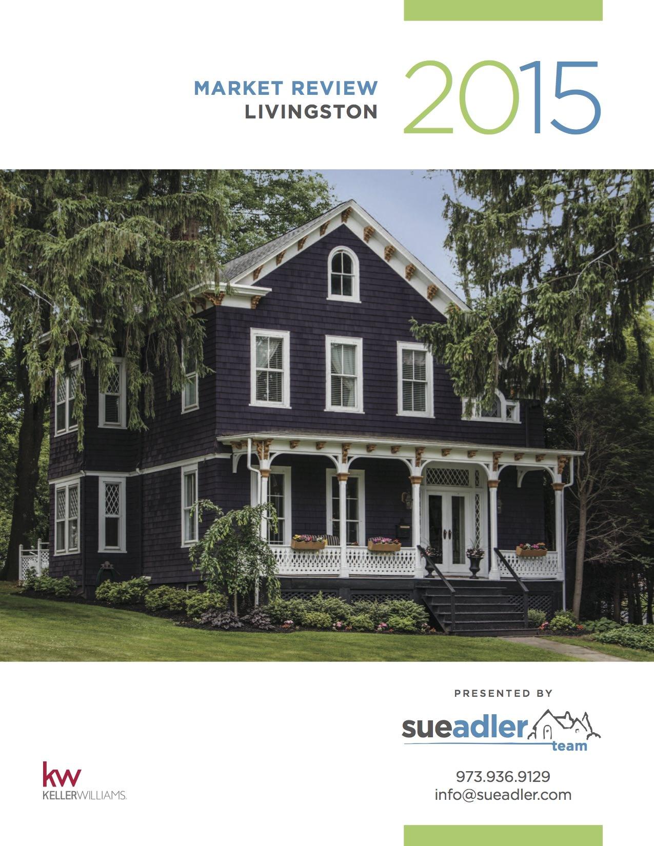 Sue Adler 2015 Millburn:Short Hills Cover Pic